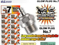 4600-51 O.S. Glow Plug no. 7 - Pack of 1
