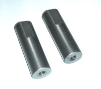 122-27 M3 x 25 x 8 Threaded Spacer - Pack of 2
