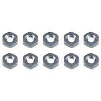 130-010 m2 Hex Nut - Pack of 10