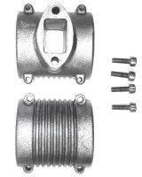 4000-09 Flange for Zimmermann gas muffler - ZG 20 - 30...
