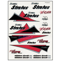 126-95 Stratus Stripe Decal Sheet - Pack of 1