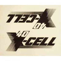 0662 X-Cell 40 Decal Logo Sheet - Pack of 2