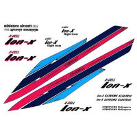 124-99 ION Decal Sheet - Pack of 2