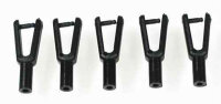 0137 Plastic Snap Clevis - Pack of 5