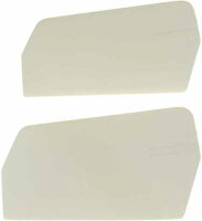 0871-6 X-Cell 3-D Paddles White-20gr.-M3 - Pack of 2