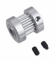 127-15 CNC Aluminum 13t T/R Pulley