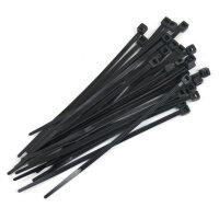 """3200-60 4"""" Zip Ties - Black - Pack of 25"""