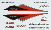 130-470 Furion Vinyl Canopy Decal Sheet-Red
