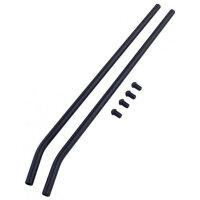 0153 Black Aluminum Skids II - Set