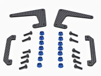 133-425 Whiplash Gas V2 Clutch and Motor Mount Support - Set