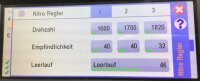 Whiplash Benziner - Einstellungen VStabi Drehzahlregler