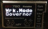 Whiplash Turbine - Einstellungen Futaba 701/750...