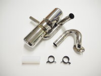 4000-21 GAS Rear Muffler for ZG 20 - 29  RC / PUH Engines