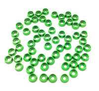 2700-02 3mm Washer Green - Pack of 60