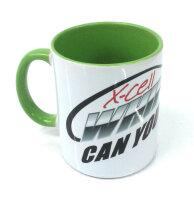 MA-Cup 1 - Miniature Aircraft Kaffeebecher - green