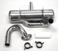 4000-16 GAS Rear Muffler for ZG 20 - 29  RC / PUH Engines